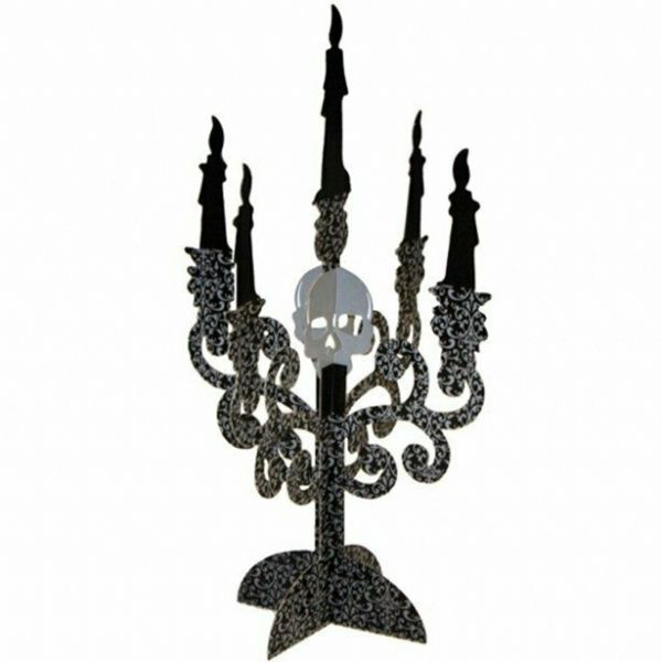 Halloween Halloween Candelabra Table Centrepiece Decorations - 35cm x 2